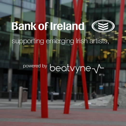 Bank of Ireland supporting emerging Irish artists, powered by beatvyne
